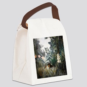 Henri Rousseau Rain Forest Canvas Lunch Bag