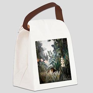 Henri Rousseau Rain Forest Canvas Lunch Bag