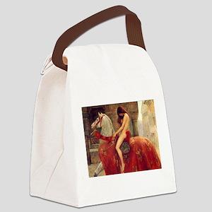John Collier Lady Godiva Canvas Lunch Bag