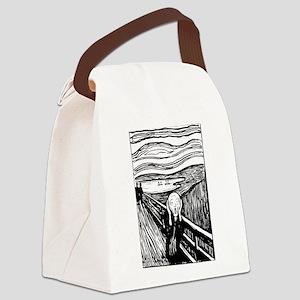Edvard Munch The Scream Canvas Lunch Bag
