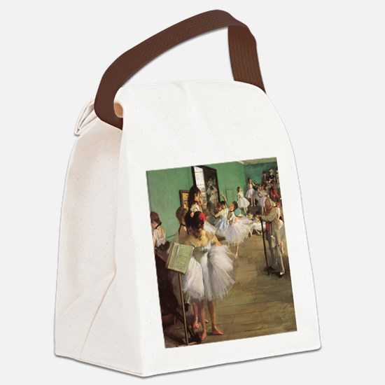 Edgar Degas Dancing Class Canvas Lunch Bag