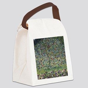 Gustav Klimt Apple Tree Canvas Lunch Bag