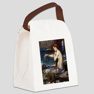 John William Waterhouse Mermaid Canvas Lunch Bag