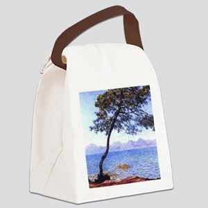 Claude Monet Antibes Canvas Lunch Bag