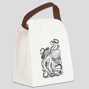 Octopus Canvas Lunch Bag