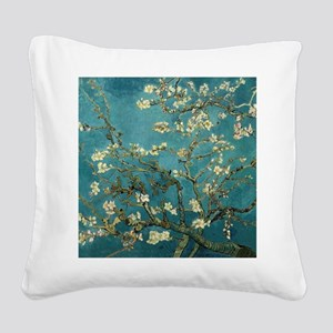 Van Gogh Almond Branches In Bloom Square Canvas Pi