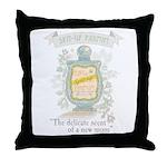MM Spit-Up Throw Pillow
