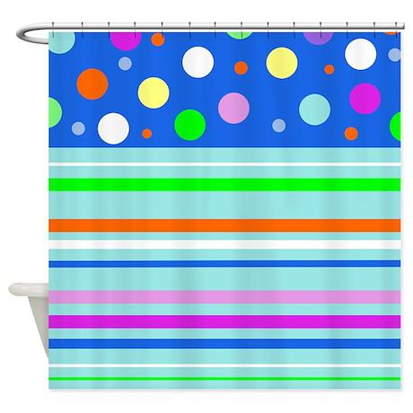 Fun Pattern Shower Curtain
