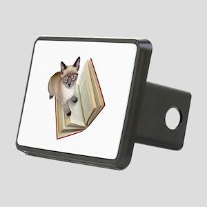 Kitten Book Rectangular Hitch Cover