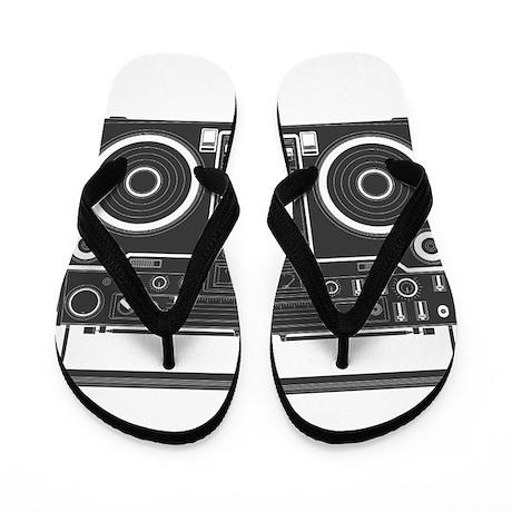 BoomBox Flip Flops