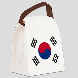 Korean Flag Canvas Lunch Bag