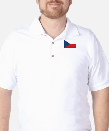 Czech Flag Golf Shirt