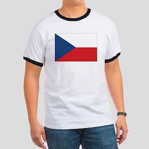 Czech Flag Ringer T