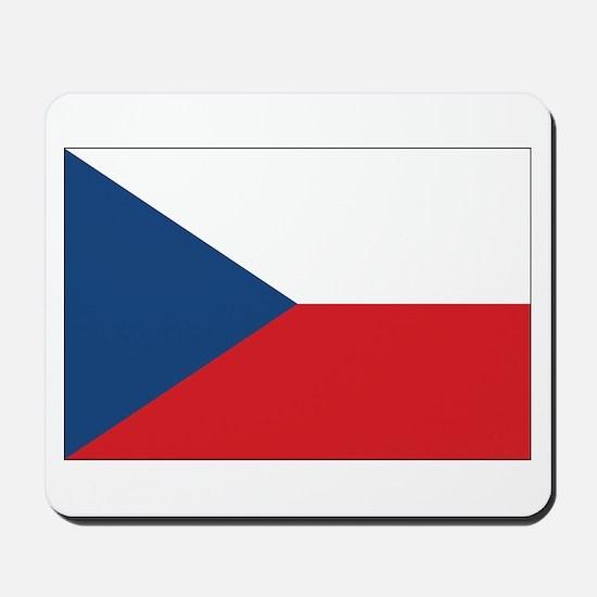 Czech Flag Mousepad
