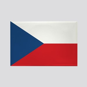 Czech Flag Rectangle Magnet