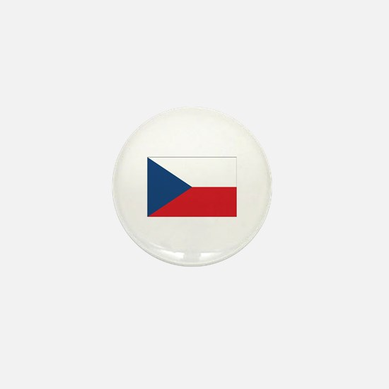 Czech Flag Mini Button