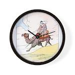 Camel Art Wall Clock