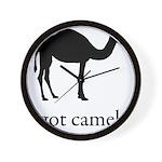 got camel? Wall Clock