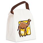 Camel Canvas Lunch Bag