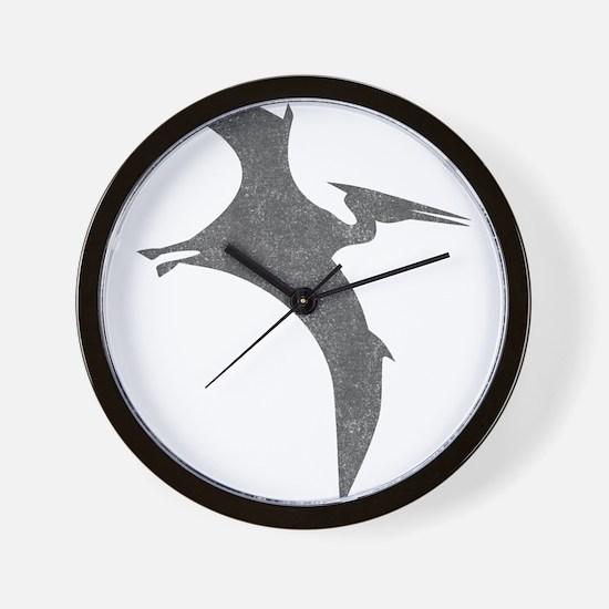 Vintage Pterodactyl Wall Clock