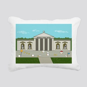 Manuscript Rectangular Canvas Pillow