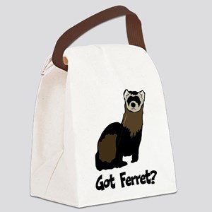 Got Ferret? Canvas Lunch Bag