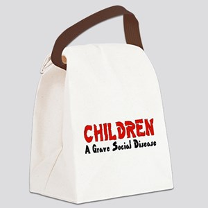 children_grave01 Canvas Lunch Bag