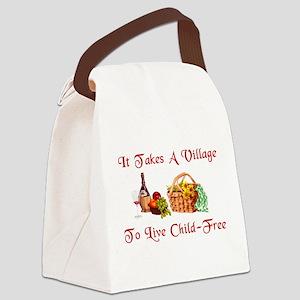 child_free_village02 Canvas Lunch Bag