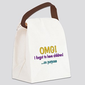 omg01 Canvas Lunch Bag