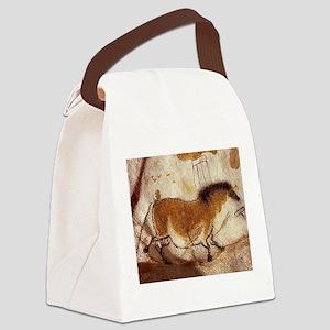 Lascaux Horse Painting Canvas Lunch Bag