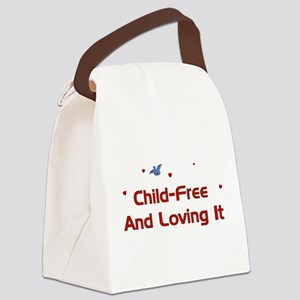 childfree01 Canvas Lunch Bag