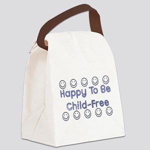 3-childfree01 Canvas Lunch Bag