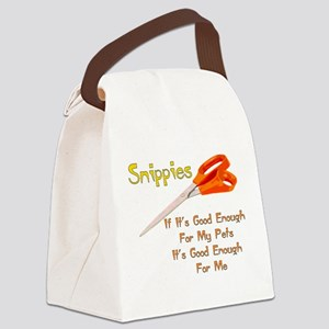 snippies01 Canvas Lunch Bag