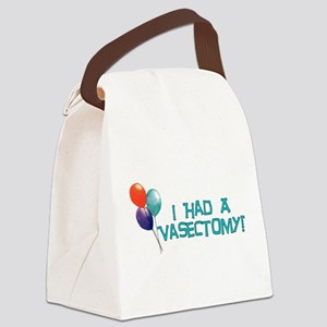 vasectomy01 Canvas Lunch Bag