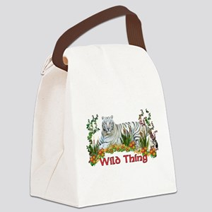 wildthing01a Canvas Lunch Bag