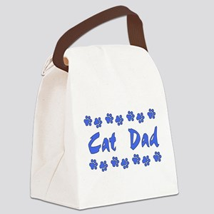 catdad01 Canvas Lunch Bag