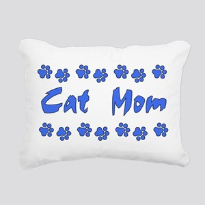 catmom01 Rectangular Canvas Pillow