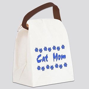 catmom01 Canvas Lunch Bag