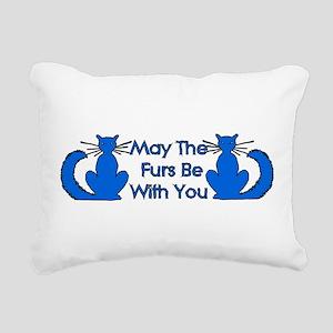 cat_galaxy01 Rectangular Canvas Pillow