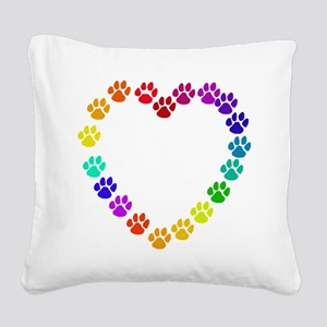 catheart01 Square Canvas Pillow