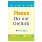 Do Not Disturb Large Poster