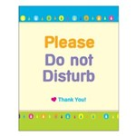 Do Not Disturb Small Poster