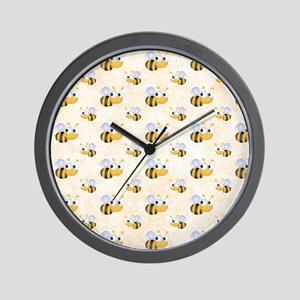 Cute Bee Wall Clock