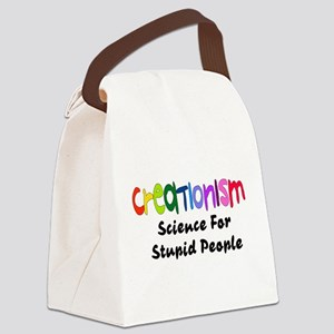 Anti-Creationism Canvas Lunch Bag