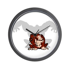 Angry Ape Wall Clock