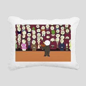 Yaya's Recital Rectangular Canvas Pillow