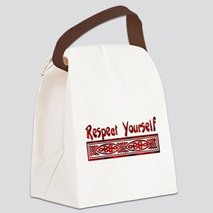 Respect Yourself Canvas Lunch Bag