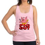 Pig Out Racerback Tank Top