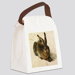 Albrecht Durer Young Hare Canvas Lunch Bag