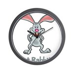 Got Rabbit? Wall Clock